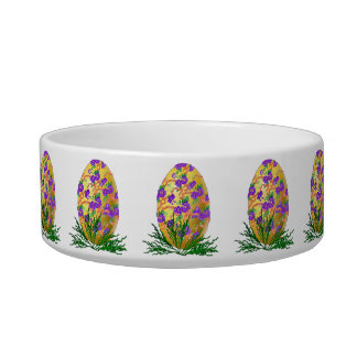 Flower Decorated Egg Bowl