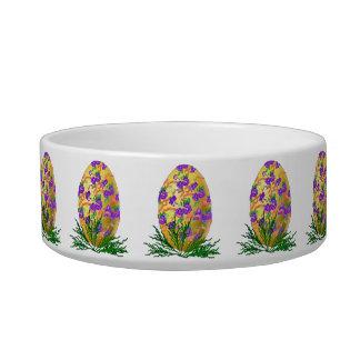 Flower Decorated Egg Bowl