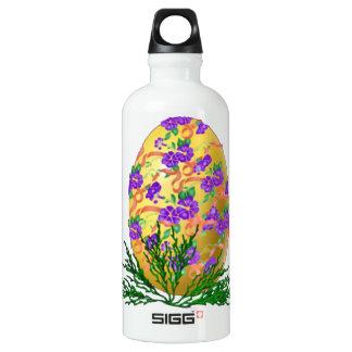 Flower Decorated Egg SIGG Traveler 0.6L Water Bottle