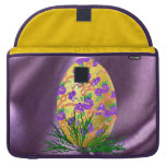 Flower Decorated Egg Sleeve For MacBook Pro