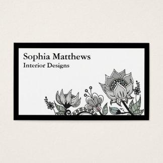 Flower Design 563 Business Card