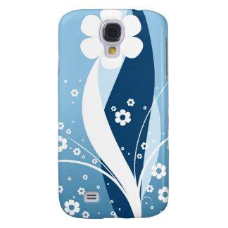 Flower Design Case Samsung Galaxy S4 Cover