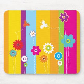 Flower Design Mousepad