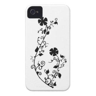 Flower Design-PC- iPhone 4 Case