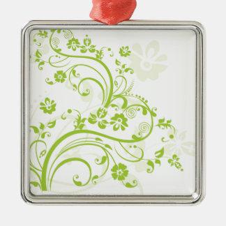 Flower design.png metal ornament