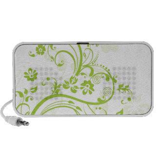 Flower design png portable speakers