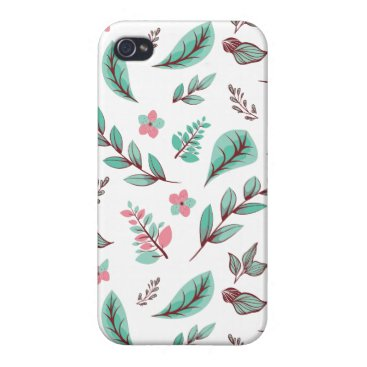 Flower Design Series 2 Case For iPhone 4