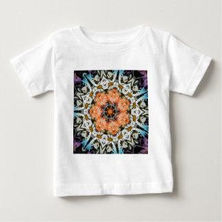 Flower Design with Orange Nov 2012 Baby T-Shirt