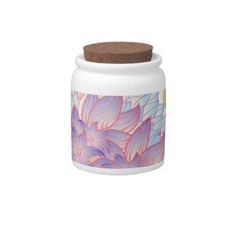 Flower Designs Candy Dish