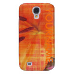 Flower Detail Color Art Samsung Galaxy S4 Covers