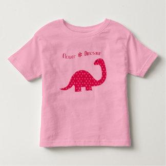 Flower Dinosaur Toddler T-shirt