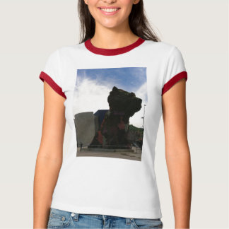 flower dog guggenhiem spain T-Shirt