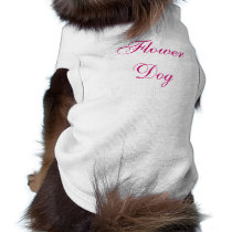 Flower Dog Pet Clothing