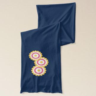 flower doodles scarf