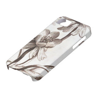 Flower Drawing iPhone SE/5/5s Case