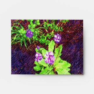 Flower Drawing photo Envelopes