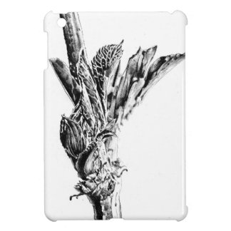 Flower drawing sketch art handmade iPad mini case