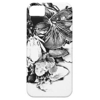 Flower drawing sketch art handmade iPhone SE/5/5s case