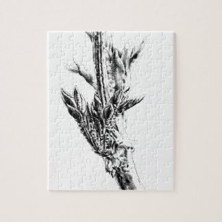 Flower drawing sketch art handmade jigsaw puzzle