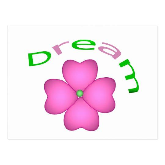 Flower - Dream Postcard