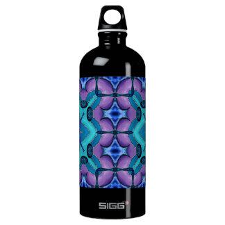 Flower Dreaming Aluminum Water Bottle