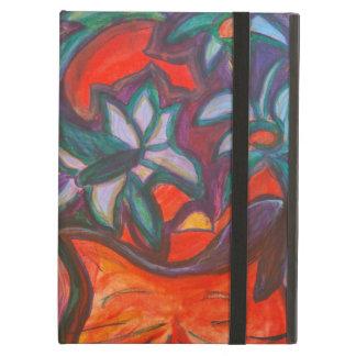 Flower Dreaming Cat iPad Air Covers