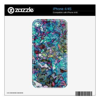 Flower Drop II Decals For iPhone 4