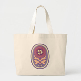 flower egg canvas bags