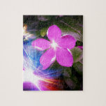 Flower Electric Jigsaw Puzzles