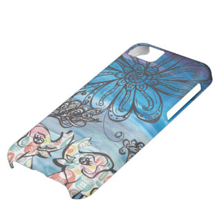 Flower Elephants Cover For iPhone 5C