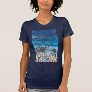 Flower Elephants T-Shirt
