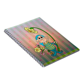 Flower Elf Spiral Notebook