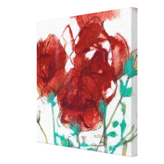 Flower Expression I Canvas Print