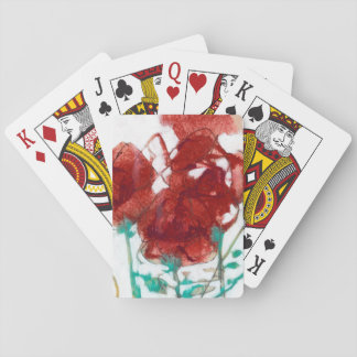 Flower Expression I Poker Deck