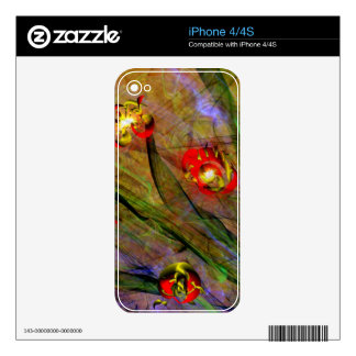 flower expressionist skins for the iPhone 4S