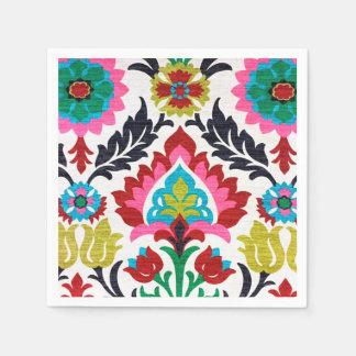 Flower Fabric Paper Napkin