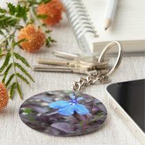 Flower Face Keychain