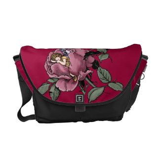 Flower Faerie Rickshaw Messenger Bag