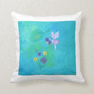 Flower Faeries Throw Pillow
