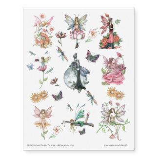 Flower Fairies Butterflies Dragonflies Flowers Art Temporary Tattoos