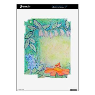 Flower Fairies Garden Art Custom Case Decal For iPad 2