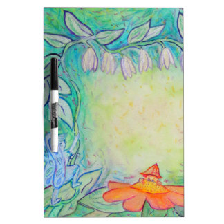 Flower Fairies Garden Art Custom Dry-Erase Board