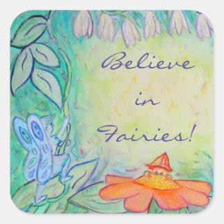 Flower Fairies Garden Art Custom Sticker Decals