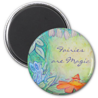 Flower Fairies Garden Custom Refrigerator Magnets