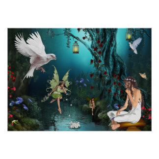 Flower fairies poster