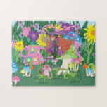 Flower Fairy and Angel Bear Tea Party Puzzle