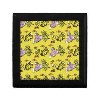 Flower Fairy and Dairy Pattern Gift Box