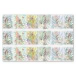 Flower Fairy Art Whimsical Watercolor Tissue Paper