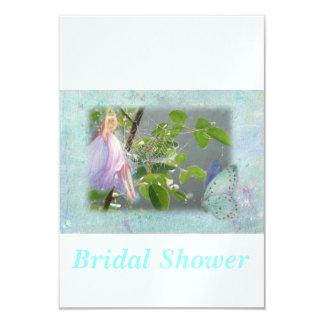 Flower Fairy Bridal Shower Card