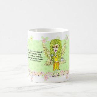 Flower Fairy Classic White Coffee Mug